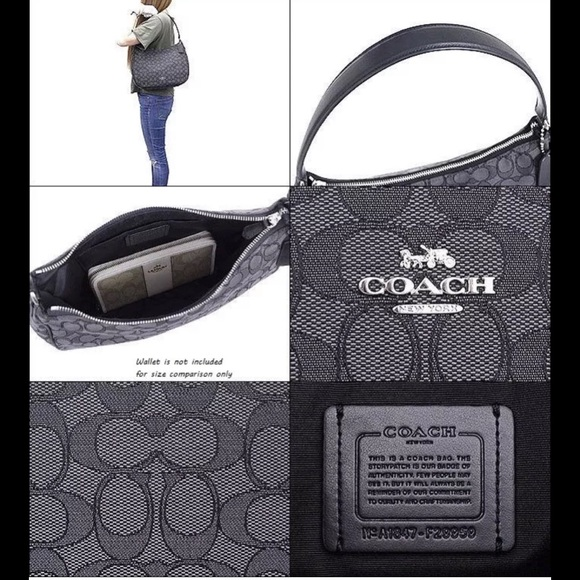 Authentic Coach Jacquard Purse. NWT 3bc374629e4a8